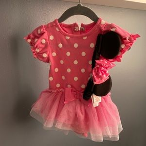 Disney baby Minnie Mouse dress with Ears